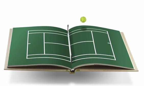 Książka tenis