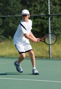 Praca nóg w tenisie