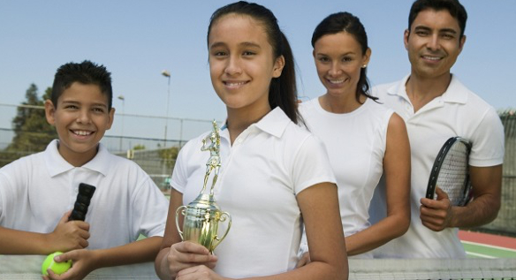 Jak być dobrym rodzicem małego tenisisty?