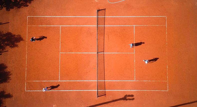 taktyka grania w tenisa