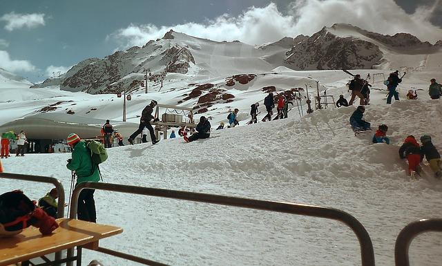 góry i narty