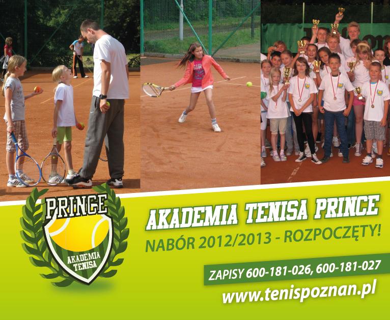 Nabór na zajęcia tenisowe 2012/2013