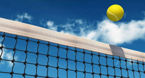 Tenis – dojście do siatki