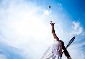 tenisowe zagranie