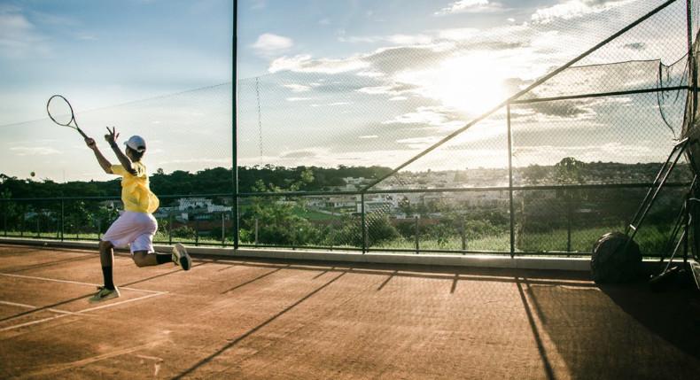 trening w tenisa