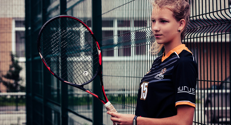 lekcje z tenisa